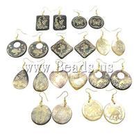Серьги-гвоздики Beads.us 925 ,  8 , 10Pairs/Lot, 121120113024