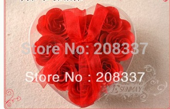 NEW ARRIVAL Novelty Product Soap Flower Beautiful And Magic 18PCS/LOT