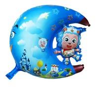 Min.order $19(mixed support) Christmas cute balloon 3   cartoon style   Large moon sheep pink free shipping