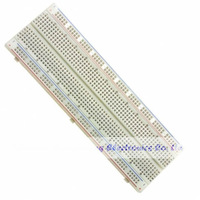 Free Shipping 2PCS 830 Tie point MB 102 Solderless Prototype Breadboard PCB EG208