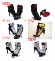 Free Shipping !2014  news high heels shoes ,Design with Tag Women  and high heels boot  eur size :36-41 full-color