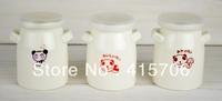 3pcs/set  zakka cute cup with lid