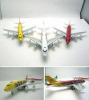 4 plain boeing jets alloy model