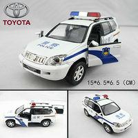 TOYOTA parados police car model acoustooptical WARRIOR car alloy car model