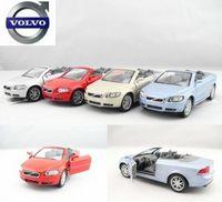 4 soft world VOLVO c70 WARRIOR car alloy car model toy