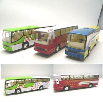 4 alloy bus WARRIOR open the door bus toy car acoustooptical