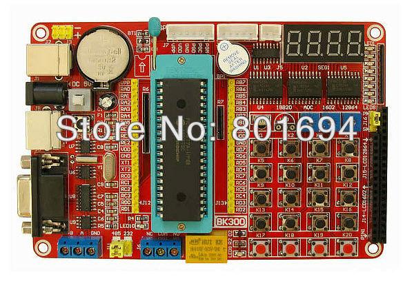 PIC Development Board Kit + Microchip PIC16F877A(China (Mainland))