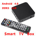 201211 New Arrival Google Internet Smart TV Box Android 4.0 HDD Player Amlogic M3 Cortex A9 DDR3 1GB+ 4GB
