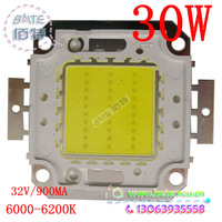 Free shipping~30W LED white/warm white High Power 2400LM LED Lamp SMD Chips
