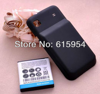 3800mAh extended Battery + Black Back Case Cover For Samsung Galaxy S i9000 i9001 T959