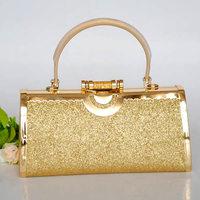 Ktv princess bag dj  evening women's handbag  princess bag  flash material metal partybag