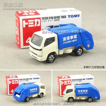 Cars alloy toy barrowload tomy 45 TOYOTA dirtwagon blue