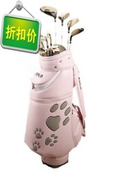 Golf set pole Women cudweeds polo w8006 premium(China (Mainland))