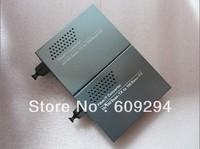 Bi-Di Single mode Single Fiber 10/100Mbps Fiber Optical Media Converter 25km 2pcs/lot