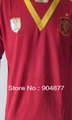 NEW 13/14 seasons spain home top quality soccer jerseys +shorts  free shipping  drop ship