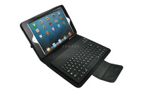 20pcs/lot Wireless Bluetooth Stand Keyboard Case for iPad mini free shipping