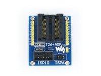 T26+ ADP ATtiny26 ATtiny261 ATtiny461 ATtiny861 SOIC20 (300 mil) AVR Programming Adapter Test Burn-in Socket + Freeshipping