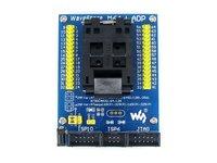 M64+ ADP ATmega64 ATmega128 ATmega169 mega64 mega128 mega169 TQFP64 AVR Programming Adapter Test Socket + Free Shipping