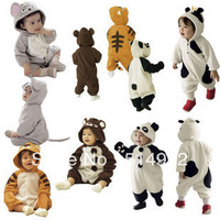 Best Selling!!new autumn baby romper cartoon animal romper baby winter romper baby clothes set jumpsuit+ free shipping