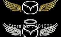Free shipping Reflective car stickers car sticker angel car/auto logo/signs/emblems 165*55mm