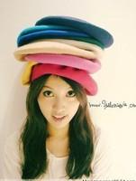 Free shipping  New Fashion Women Beret Rabbit Fur Beanie Warm Winter Berets Hat Cap Hot multi colors