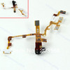 Black 5pcs/lot Headphone Earphone Jack Power Key Mute Volume Switch Flex Cable For iPhone 3GS