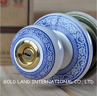 Free shipping 2pcs/set ceramic house door lock / spherical lock / household hardware locks