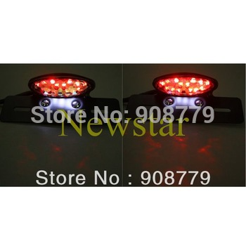 Free Shipping Brand New 28 LED Brake Tail Light for Quad ATV Dirt Bike Motorcycle Black Casing Guaranteed 100%