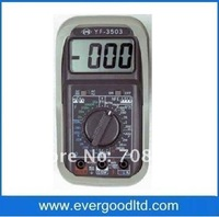 Free Shipping Wholesale&retail ,AC/DC-750/1KV, 3 1/2 Manual digital multimeter YF-3503