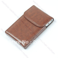 New Hot Crown Card Holder Cellphone Case 5Colors Pouch Purse Wallet moblie phone Bag Case