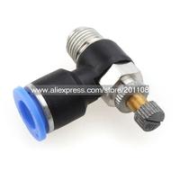 "A406A 10PCS/LOT  6 mm OD - 1/4"" Thread throttle valve"