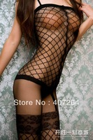 Adult selebritee plolicy underwear pants women's sexy transparent lace temptation open-crotch rompers stockings fishnet