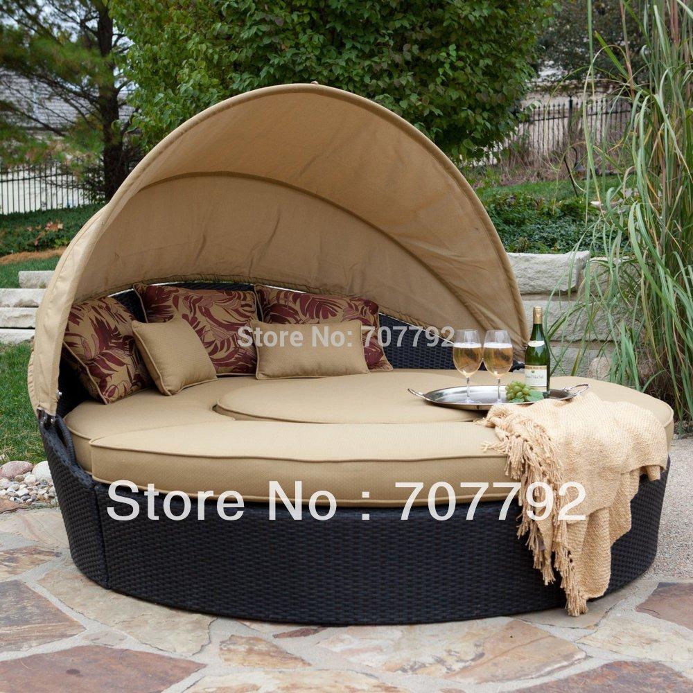 Acquista allingrosso Online outdoor rattan divano letto ...