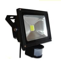 20W Warm white PIR sensor lamp / motion detective led flood light led security light 85-265v