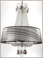 FREE LED BULB 11-240V K9 D54 H76MM CRYSTALFABRIC PEDANT LIGHT  LIGHT HOLDERS WITH LAMPSHAPE FOR PARLOR/BEDROOM/HOTEL