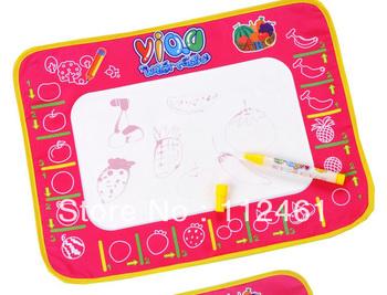 Magic Doodle Mat Educational aquadoodle mat 1 piece aquadoodle Mat+ 1 Pen Free shipping 5pcs/lot