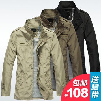Free shipping hot sell fashion spring autumn winter men jacket man outerwear Trench Coat Jacket