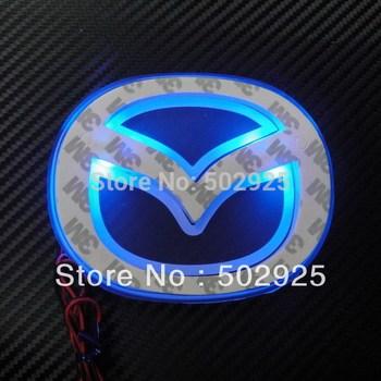 Free Shipping  Fashion Shiny LED  Car Emblem Badges  Mazda 2 3 5 6  CX-7 CX-5 cx 5