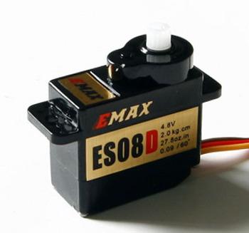 Emax ES08D 8.6g/ 2.0kg/ .09 sec Micro Digital Servo free shipping
