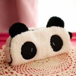 Plush toy pencil case cosmetic storage bag cartoon sundries bag child pencil bag(China (Mainland))