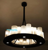 Free Shipping Kevin Reilly Altar France Country Style Candle Pendant Lamp Suspension Modern Light