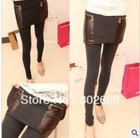 2376 women's pantskirts Leggings and skirt Europe and America style  warm elastic  tight pantskirt 5pcs/lot  freeshipping