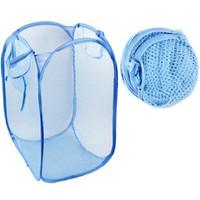 Dirty clothes basket folded net Large laundry basket storage basket laundry basket dirty clothes bucket