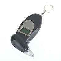 10PCS Portable Keychain Digital Alcohol Breath Analyzer Tester Detector Breathalyser