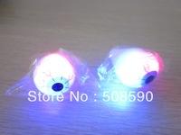 Free Shipping 576pcs/lot LED flashing ring flash finger ring LED light eye ring for Christmas