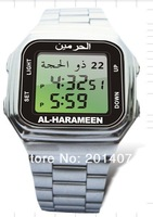 Brand New  English aArabic Six prayer reminder  Muslim Azan prayer watch