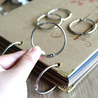 Diy photo album photo album handmade photo album binder's quoined binder's a17th-century connecting ring