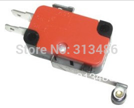 V-156-1C25 Long Hinge Roller Lever AC DC Micro Switch ,snap action switch(China (Mainland))