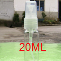 WHOLESALE 20CC transparent empty plastic spray bottle makeup remove cosmetic container perfume travel