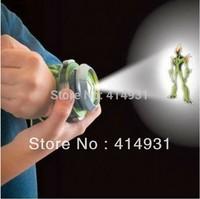 Free Shipping 2012 New Fashion child TOY Japan BAN DAI Genuine /ben 10 watch/ben10 projector medium